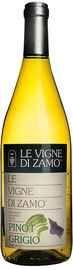 Вино белое сухое «Le Vigne di Zamo Pinot Grigio Venezia Giulia» 2018 г.