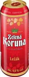 Пиво «Zelena Koruna Lezak»