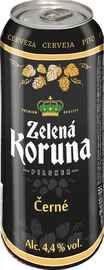 Пиво «Zelena Koruna Cerne»