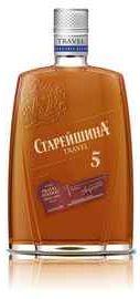 Коньяк российский «Старейшина Пятилетний, 0.25 л»