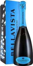Вино игристое белое экстра брют «Bellavista Franciacorta Gran Cuvee Pas Opere» 2012 г. в подарочной упаковке