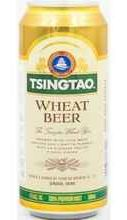 Пиво «Tsingtao Wheat» в жестяной банке