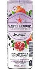 Газированный напиток «Sanpellegrino Momenti Pomegranate & Blackcurrant» в жестяной банке