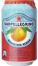 Газированный напиток «Sanpellegrino Aranciata Rossa» в жестяной банке