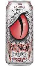 Газированный напиток «Strawberry Apple Low Calorie» в жестяной банке