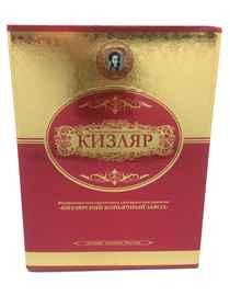 Коньяк российский «Кизляр КС» в подарочной упаковке