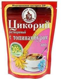 Цикорий растворимый «Русский Цикорий с топинамбуром» 100 гр.