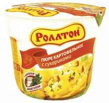 Пюре «Ролтон с сухариками» 40 гр.