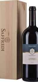 Вино красное сухое «Fattoria Le Pupille Saffredi Toscana Maremma» 2016 г. в деревянной коробке