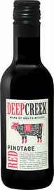 Вино красное сухое «Deep Creek Pinotage Western Cape Origin Wine» 2019 г.