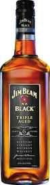 Виски американский «Jim Beam Black Triple Aged»