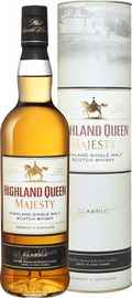 Виски шотландский «Highland Queen Scotch Whisky Company» в тубе