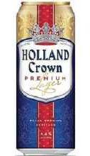 Пиво «Holland Crown Premium» в жестяной банке