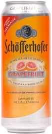 Пиво «Schofferhofer Grapefruit» в жестяной банке