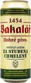 Пиво «Bakalar Za Studena Chmeleny» в жестяной банке
