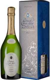 Вино игристое белое брют «Grande Cuvee 1531 de Aimery Cremant de Limoux Blanc» 2018 г. в подарочной упаковке