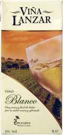 Вино белое сухое «Vina Lanzar Bianco» 2019 г.