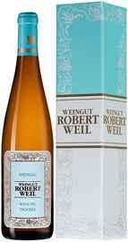 Вино белое полусухое «Rheingau Riesling Trocken Robert Weil» 2019 г., в подарочной упаковке