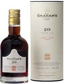 Портвейн «Graham's 20 Year Old Tawny Port» в подарочной упаковке