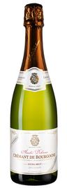Вино игристое экстра белое брют «Cremant de Bourgogne Extra Brut Terroirs Mineraux Andre Delorme» 2018 г.