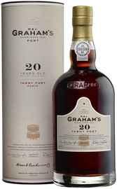 Портвейн сладкий «Graham s 20 Year Old Tawny Port» 2016 г. в тубе