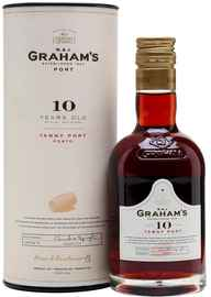 Портвейн сладкий «Graham s 10 Year Old Tawny Port» 2018 г. в тубе