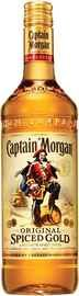 Ром «Captain Morgan Spiced  Gold, 0.05 л»