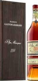 Арманьяк «Baron G. Legrand 1998 Bas Armagnac» в деревянной подарочной упаковке