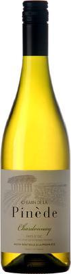 Вино белое сухое «Chemin de la Pinede Chardonnay» 2018 г.