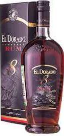 Ром «El Dorado 8 Years Old» в подарочной упаковке