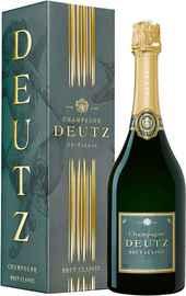 Шампанское белое брют «Deutz Brut Classic, 0.75 л» в подарочной упаковке