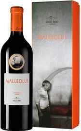Вино красное сухое «Ribera del Duero Malleolus» 2018 г. в подарочной упаковке