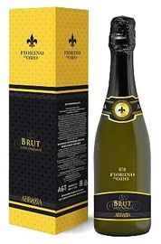 Вино игристое белое брют «Fiorino d'Oro» в подарочной упаковке