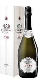Вино игристое белое сладкое «Fiorino d'Oro Asti Spumante» в подарочной упаковке