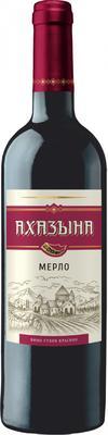 Вино красное сухое «Ахазына Мерло»