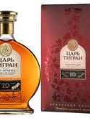 Коньяк армянский «Tsar Tigran 10 Years» 2010 г., в подарочной упаковке