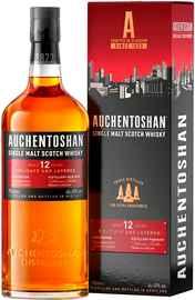 Виски шотландский «Auchentoshan 12 Years Old» в подарочной упаковке