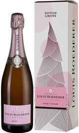 Шампанское розовое брют «Brut Rose New Year» 2014 г. в подарочной упаковке