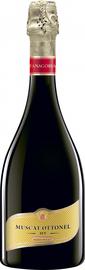Вино игристое белое полусладкое «Фанагория Мускат Оттонель»