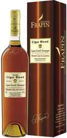 Коньяк французский «Frapin Cigar Blend Grande Champagne Premier Grand Cru Du Cognac» 2004 г. в подарочной упаковке