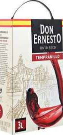Вино красное сухое «Tempranillo Don Hernesto (Tetra Pak)»