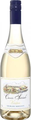 Вино белое полусладкое «Cuvee Speciale Verdier Vin Blanc Moelleux»