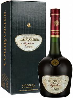 Коньяк французский «Courvoisier Napoleon» в подарочной упаковке