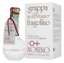Граппа «Nonino Cru Monovitigno Fragolino» в подарочной упаковке
