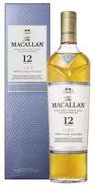 Виски шотландский «Macallan Triple Cask Matured 12 Years» в подарочной упаковке