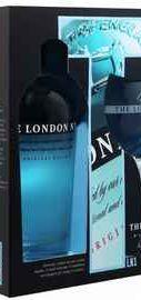 Джин «The London №1 Original Blue Gin» в подарочной упаковке с бокалом