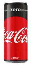 Газированный напиток «Coca-Cola ZERO»