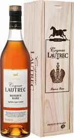 Коньяк «Lautrec Reserve Rare» в деревянной коробке