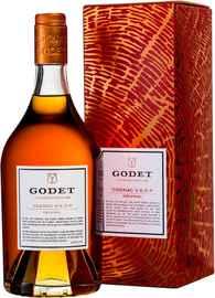 Коньяк французский «Godet Original VSOP» в подарочной упаковке
