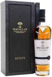 Виски шотландский «The Macallan Estate» в подарочной упаковке